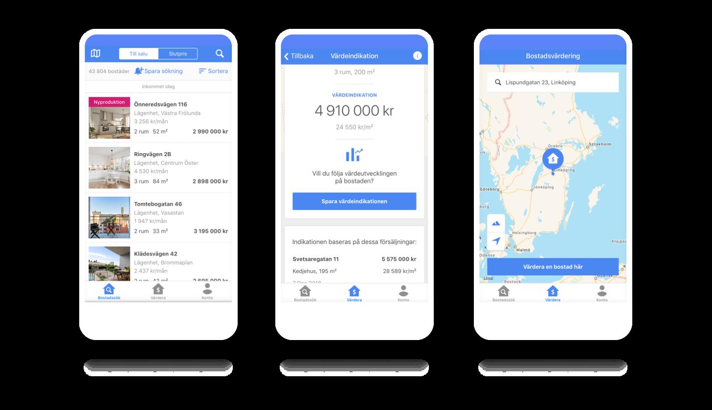Booli - Swedish real estate platform
